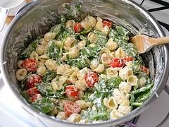 broccoli(1.0), pasta salad(1.0), salad(1.0), vegetable(1.0), vegetarian food(1.0), leaf vegetable(1.0), produce(1.0), food(1.0), dish(1.0), cuisine(1.0),