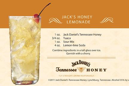 Jack Daniel's Tennessee Honey Lemonade