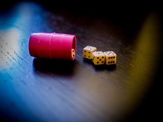 Dice & cup