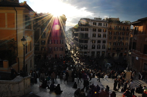 View from Spanish Steps