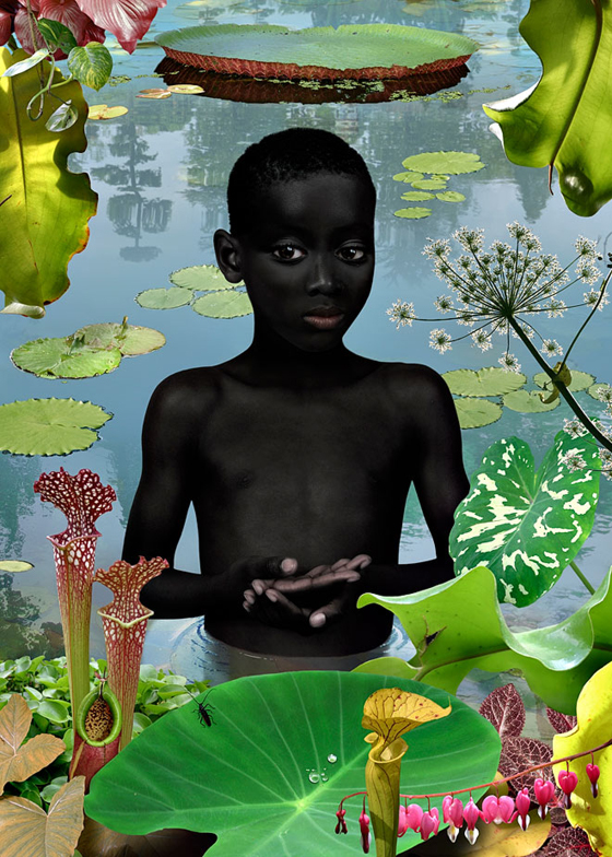 Ruud van Empel, World 13, 2006. Image courtesy of the artist