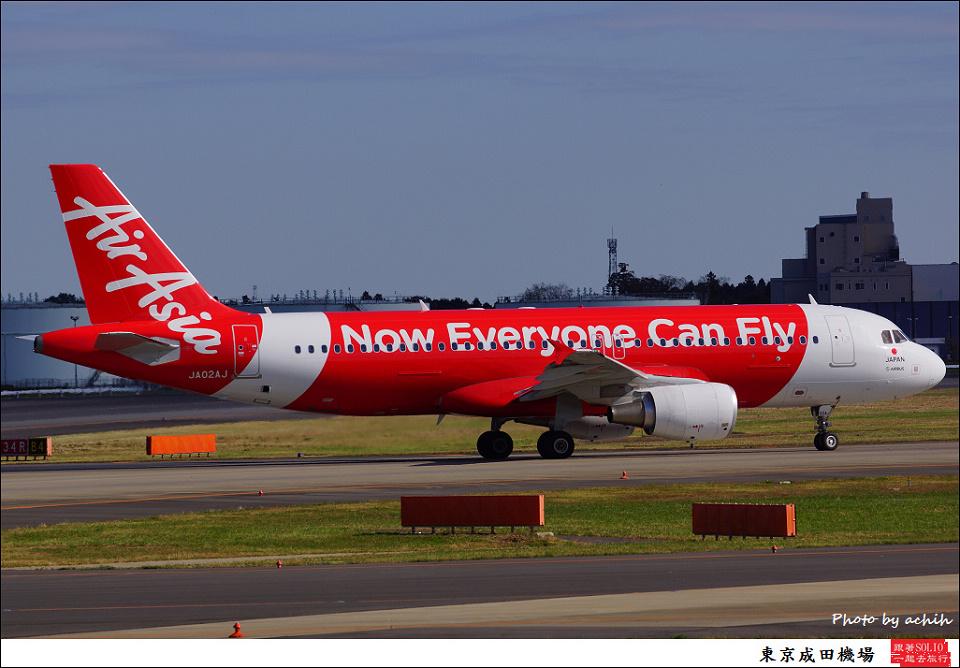 AirAsia Japan / JA02AJ / Tokyo - Narita International