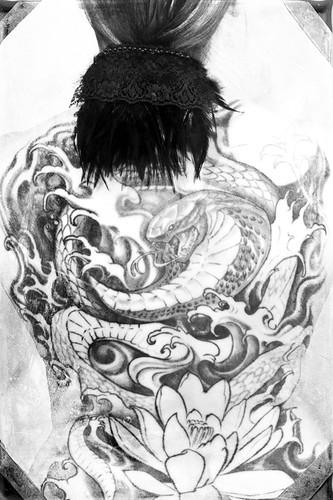 Tattoo One by The Shutterbug Eye™