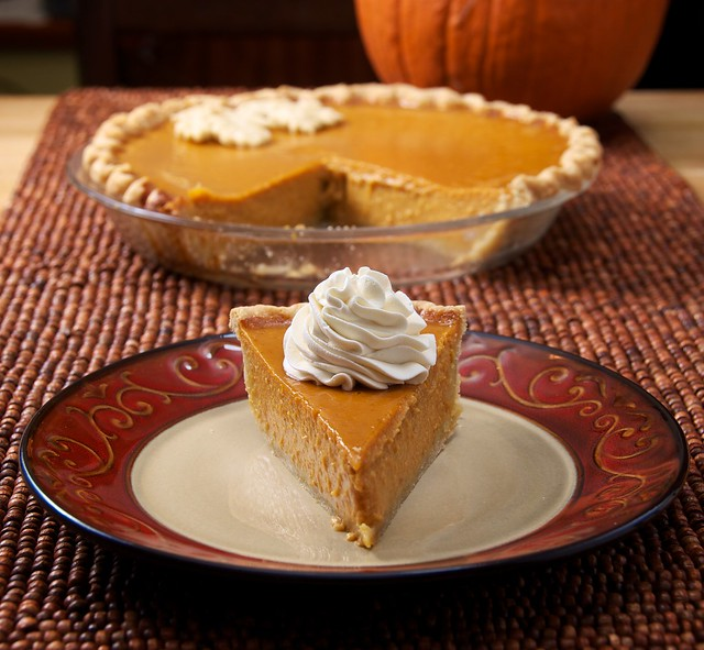 316/365 - Maple-Bourbon Pumpkin Pie | Flickr - Photo Sharing!