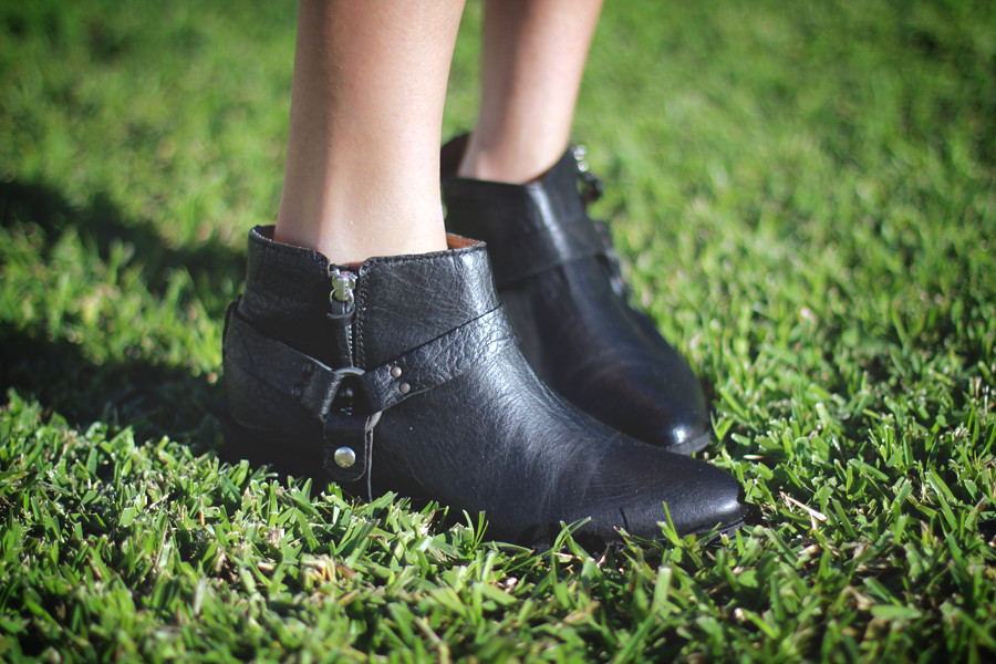Zara Harness boots