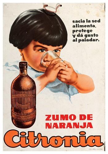 007-Citronia zumo de naranja-1920-Copyright Biblioteca Nacional de España
