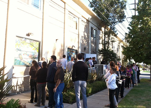 8 am line at my polling place