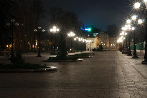night Kyiv by Valentyn Chub