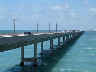 Imagen de la carretera de los Cayos