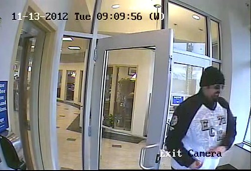 Bank Robbery 11-12-2012