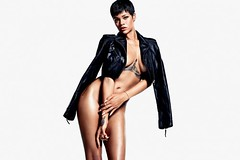 Rihanna GQ Magazine DEC 2012 MEN OF THE YEAR ISSUE .. rihanna is damn near naked