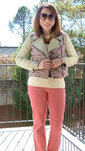 pink tweed & cords