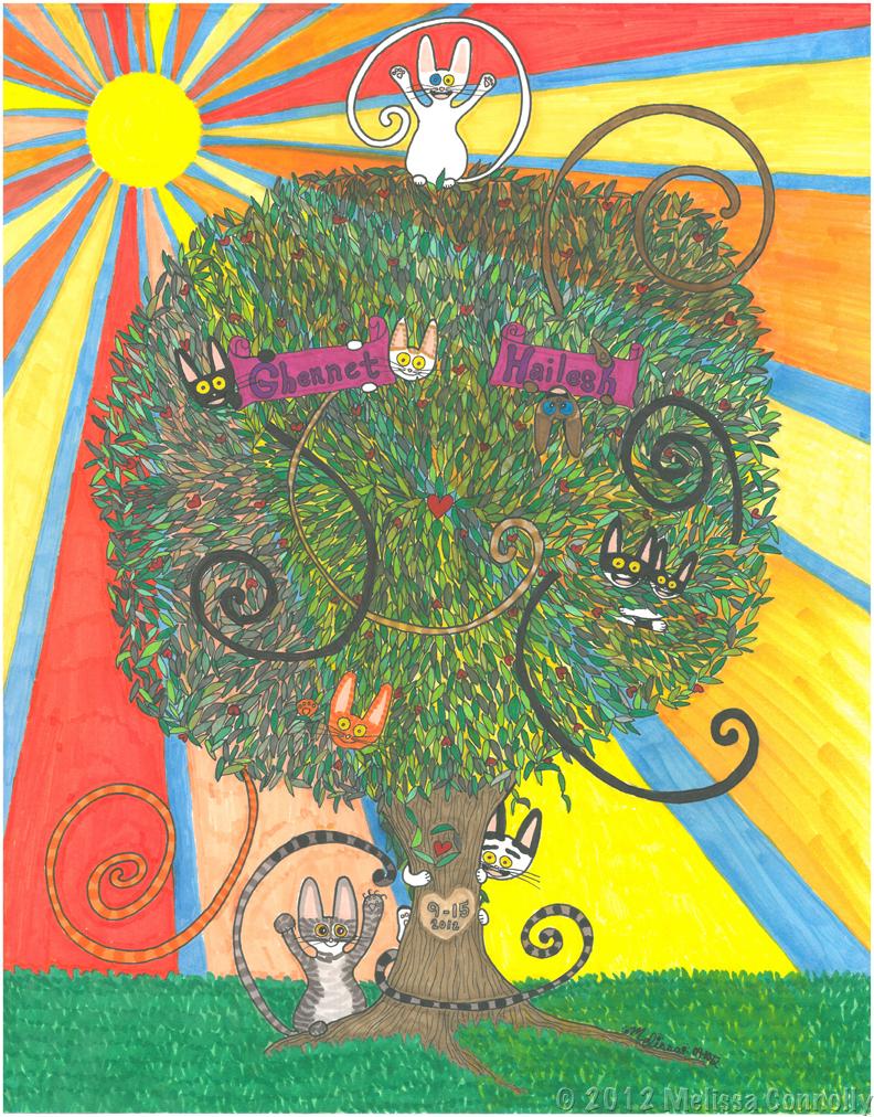 Ghennet + Hailesh's Tree
