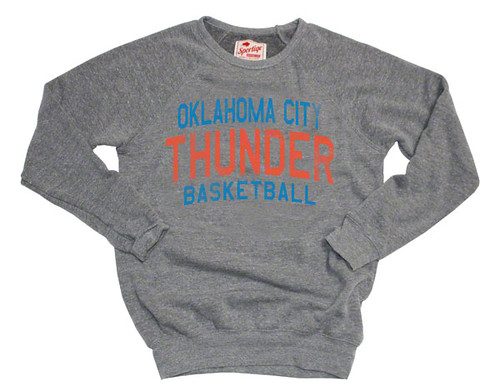 Oklahoma City Thunder BUTLER Sweatshirt By Sportiqe Apparel