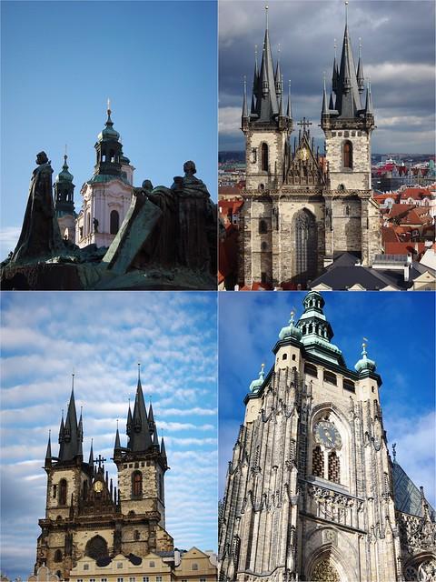 Prague et ses églises