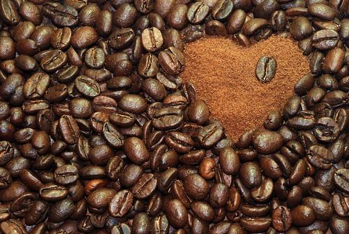 [フリー画像素材] 物・モノ, 飲料, コーヒー, ハート ID:201304020000