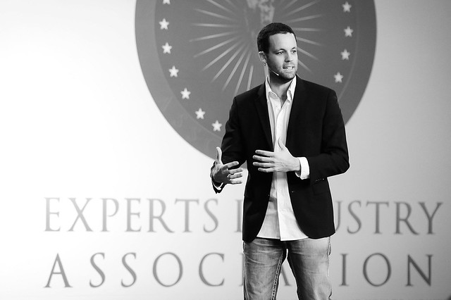 Pete Williams speaking at the Experts Industry Association - November 2012