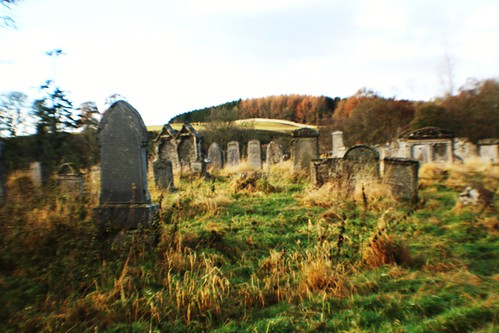 Ancient Doune Cemetery in Remote Location