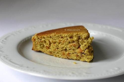 torta di carote e pistacchi