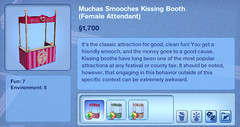 Moochas Smooches Kissing Booth (Female Attendant)