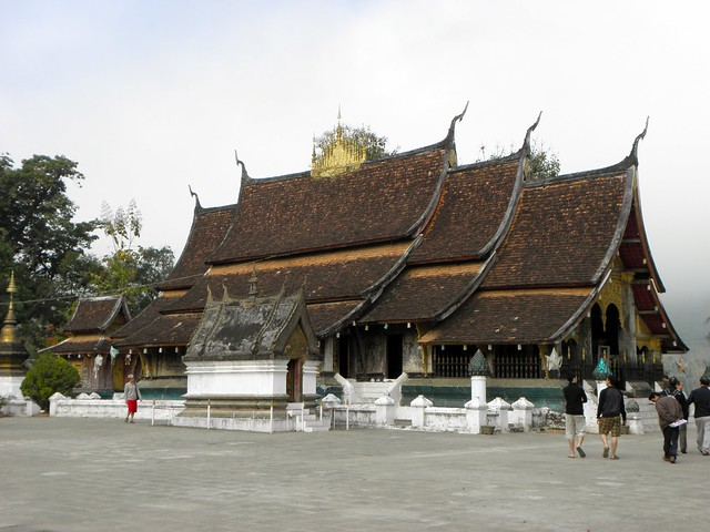 One of the many temples in Luang Prabang, Northern Laos