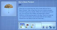 Sun's Bane Parasol
