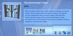 The Commander's Gate