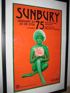 Sunbury 1975 Poster
