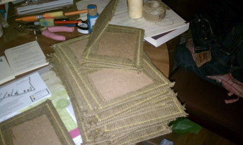 DIY Burlap Wedding Invitations (That Will Make Your Friends Hate You ...