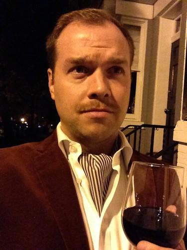 Matt Bronczek's Movember Mustache