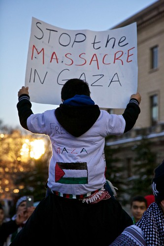 Stop the Massacre in Gaza