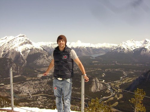 Contiki Guide James Nugent in Banff