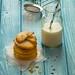 Biscotti al timo, menta e limone