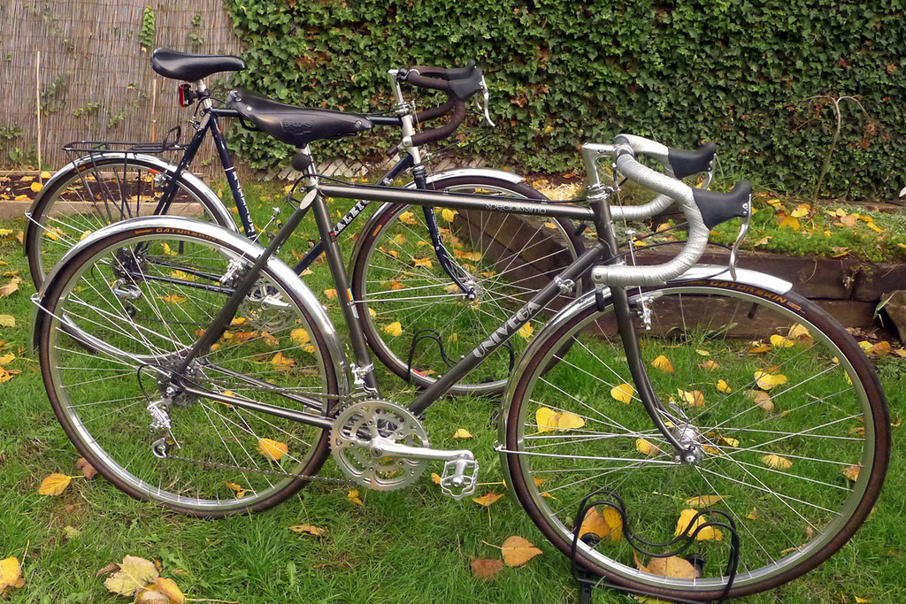 1985 Raleigh Kodiak and 1983 Univega Specialissima