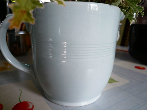 Woods Ware blue jug