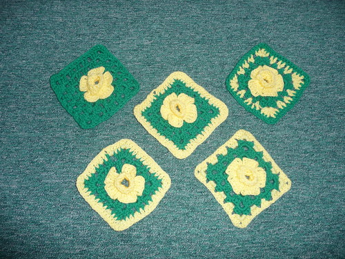 Valerie (UK) Daffodil Squares - thank you!