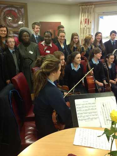 St Louis Grammar School, Ballymena, performs at the St Louis International Education Forum