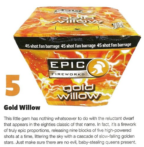 Gold Willow Review by Sorted Magazine Nov / Dec 2012
