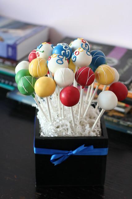 Client Gift Cake Pops