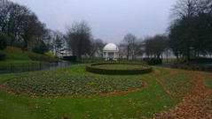 The Band Stand, Vale Park: Copyright 21st November, 2012 Kevin & Jane Moor