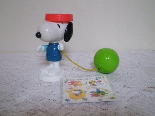 snoopy cup and ball