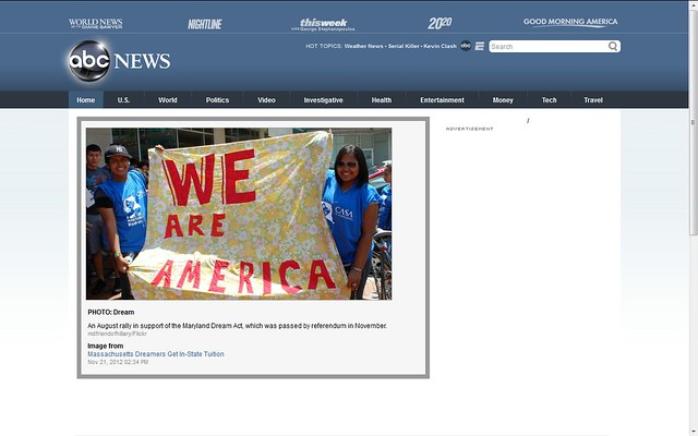 Header of Abc World News