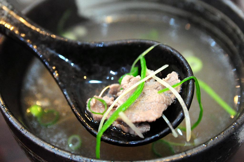 鈜景牛肉 - 刺身牛肉湯(小) 鮮嫩肉片