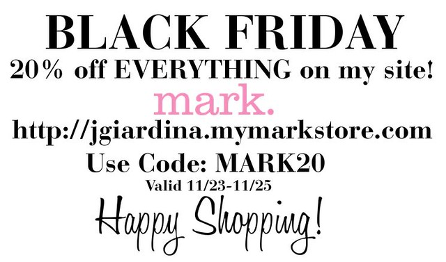 MARK. BLACK FRIDAY