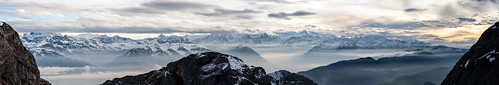 sunset panorama mountains alps clouds montagne alpes switzerland swiss luzern panoramic pilatus alpen lucerne gebirge casw fwdc13 caswgala
