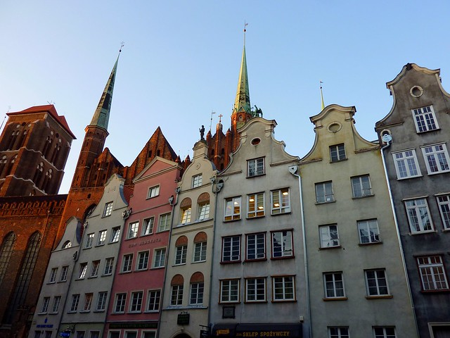 Old city of Gdansk, Poland