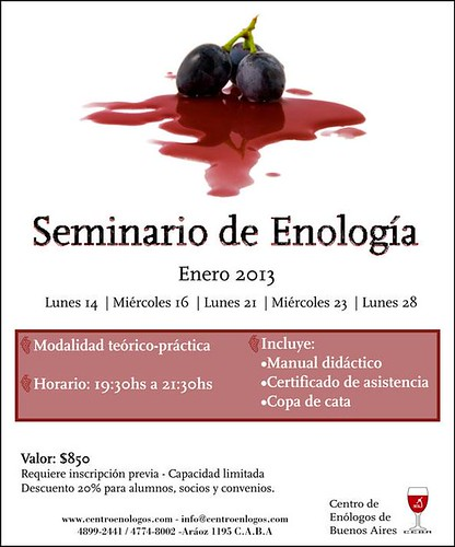 Seminario de Enología