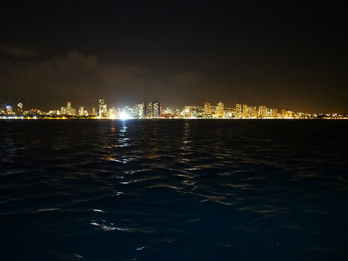 STAR of Honolulu (ディナークルーズ) - 夜景