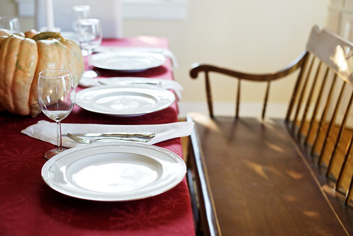 We are thankful to have places to set at the Thanksgiving table.