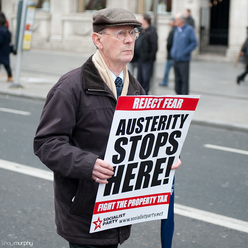 Dublin Austerity Protest 24.11.12